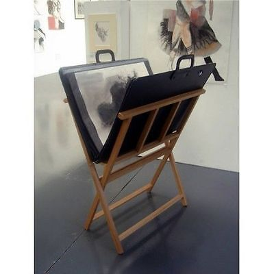 Wooden Print Storage Rack / Print Browser - Display & Store Artwork - DAPRW