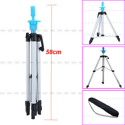 "55""  Adjustable Tripod Stand Salon Hair Cosmetology Mannequin Training Head Hold"