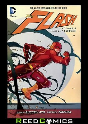 FLASH VOLUME 5 HISTORY LESSONS GRAPHIC NOVEL Paperback Collects (2011) #26-29