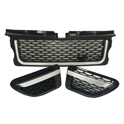 Range Rover Sport 2005-2009 Gloss Black Autobiography Front Grille & Side Vents