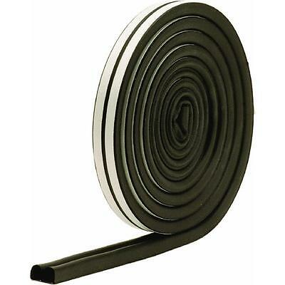 Black Extreme Temperature Auto & Marine EPDM Weatherstrip by MD Building 01025