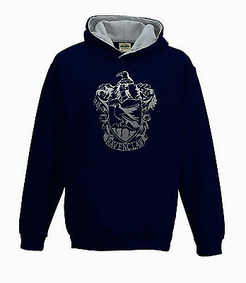 Harry Potter Ravenclaw House Kids unisex Hoodie With personalized Back option