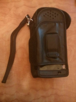 Motorola Iridium leather carry casepouch for 9505  9505A Satellite Phone