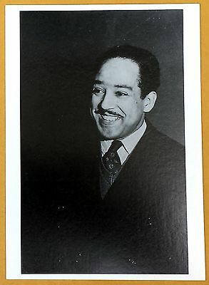 LANGSTON HUGHES - Black & White Photo Postcard - NEW (out of print)