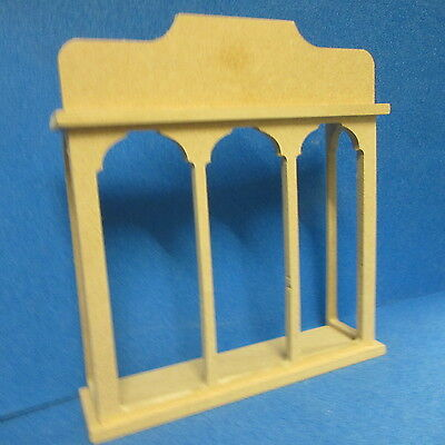 1/12 scale  Dolls House  Victorian Shop Window Square Bay  Kit   DHD87