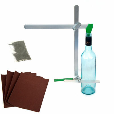 Glass Bottle Jar Cutter Tool with Complete Sandpaper Kit 02