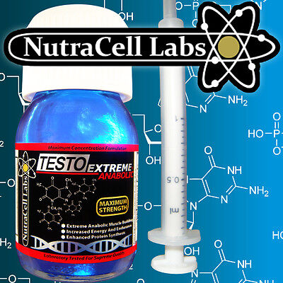 X2 Testo Extreme Anabolic - Strongest Legal Testosterone Muscle Booster Serum +