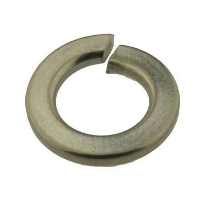 Qty 10 Spring Washer M12 (12mm) Metric Stainless Steel Single Coil SS 304 A2