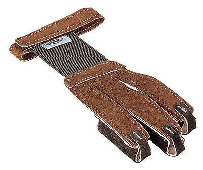 Neet Shooting Glove FG2L Tan Suede Right Hand/Left Hand Large