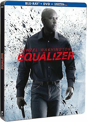 EQUALIZER - STEELBOOK EDITION LIMITED (BLU-RAY + DVD) con Denzel Washington