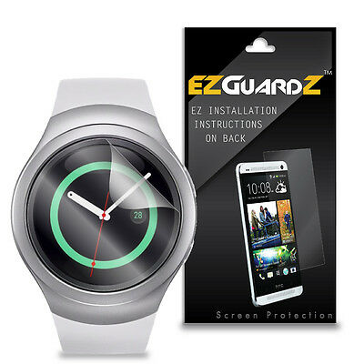 5X EZguardz Screen Protector Skin Cover Shield 5X For Samsung Gear S2 Smartwatch