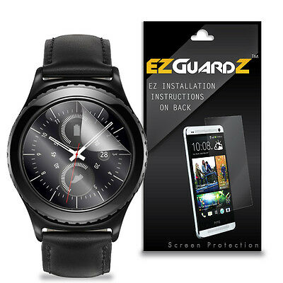 5X EZguardz LCD Screen Protector Cover Shield HD 5X For Samsung Gear S2 Classic