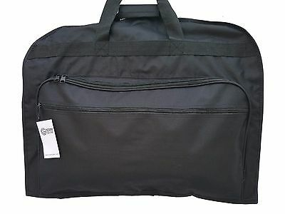 """Business Garment Bag Cover for Suits and Dresses Clothing Foldable w Pockets 39"""""""