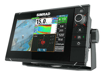 Simrad Nss9 Evo 2 Combo Multi Function Display Chirp And Structure Scan Base Map
