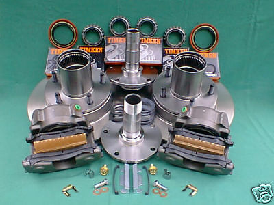 FORD F100 FRONT Drum-to-DISC BRAKE CONVERSION KIT, dana 44 w