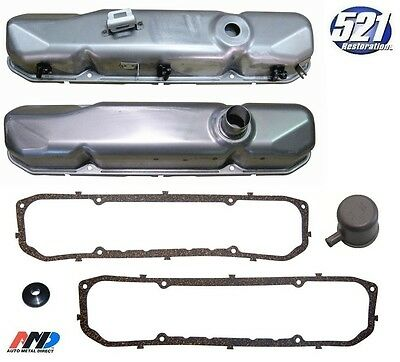 Mopar 68 383 440 Valve Cover Kit Painted Breather Road Runner GTX SuperBee NEW