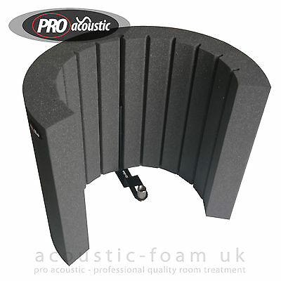 AFMS Acoustic Foam Microphone Isolation Screen , Reflection Filter , Arc Shield