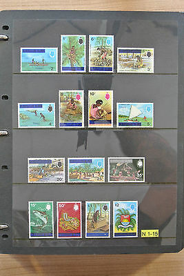 Lot 24515 Collection stamps of Tuvalu 1976-2007.