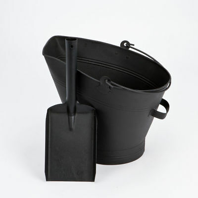Inglenook Coal Bucket and Shovel Set Black FIRE81