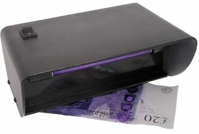 Uv Light Counterfeit Forged Fake Bank Note Money Detector Checker Mains Powered