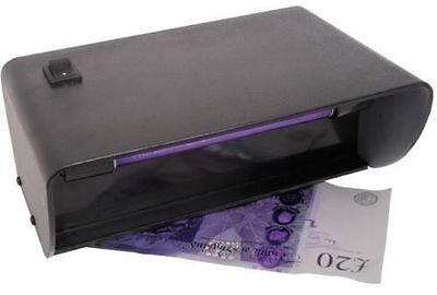 Ultraviolet UV Light Counterfeit Money Checker Fake Bank Note Currency Detector