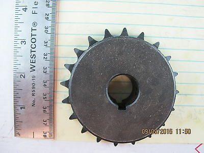"MARTIN 40BS20 3/4 – 20 Tooth Sprocket #40 Chain ¾"" Bore ATV, Mini Bike, Go Kart"