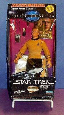 "Nrfb Star Trek Collector Series Captain James T. Kirk 9"" Figure Command Edition"
