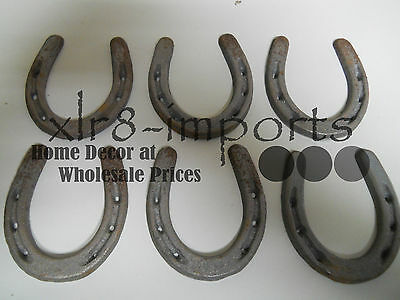 20 SMALL Cast Iron HORSESHOE Texas Lone Star Rustic Ranch HORSE SHOE