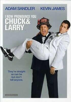 I NOW PRONOUNCE YOU CHUCK AND LARRY (DVD, 2007, Widescreen) NEW