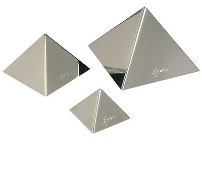 Ateco Pyramid Dessert Mold Stainless Steel