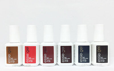 Essie Soak-Off GEL Polish - LEGGY LEGEND Collection - Set of 6 colors 932G- 937G