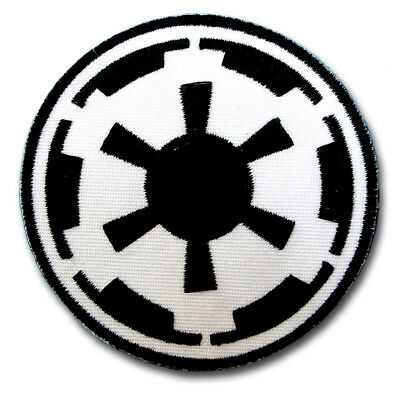 Star Wars Galactic Empire Patch Embroidered Iron on Emblem Badge Insignia Logo