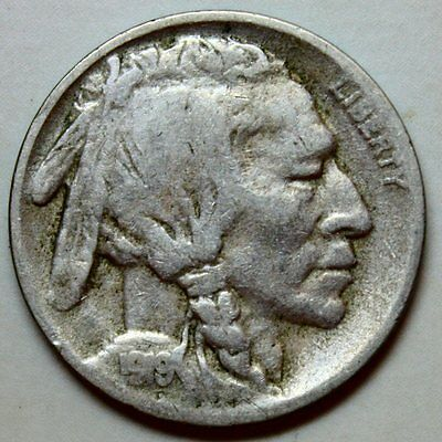 1919-D Buffalo Nickel * Nice, Original Coin