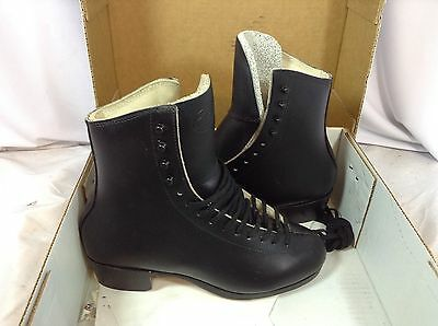 Riedell Model 375 Figure Skate Boots Men's Size 6 Black New (FS120) IHH