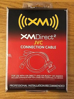 Audiovox XMDirect 2 CNPJVC1 JVC Connection Cable - Brand New