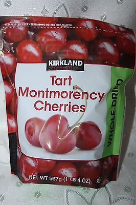 Kirkland Signature Tart Montmorency WHOLE DRIED CHERRIES 567g bag