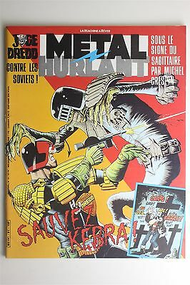 Metal Hurlant Magazine #81 Nov 1982 Judge Dredd Jodorowsky Corben French Comic