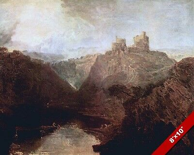 Castle Von Kilgarran Twyvey Wales Welsh Landscape Painting Art Real Canvas Print