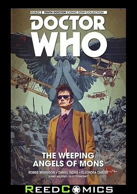 DOCTOR WHO 10th DOCTOR VOLUME 2 WEEPING ANGELS OF MONS HARDCOVER New Hardback