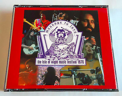 THE ISLE OF WIGHT MUSIC FESTIVAL 1970 JAPAN 2CD Free Doors Dylan Who Taste Miles