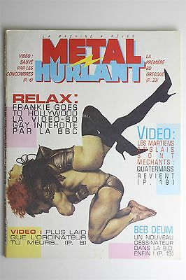 Metal Hurlant Magazine #97 Mar 1984 Beb Deum Gillon Montellier French Comic Art