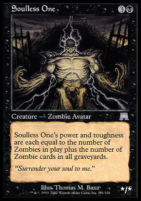 Il Senzanima - Soulless One MTG MAGIC ONS Onslaught Ita/Eng