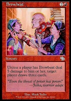 Tiranneggiare - Browbeat MTG MAGIC JUD Judgment Ita/Eng