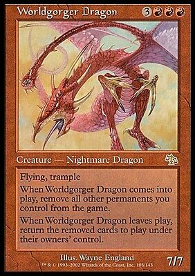 Drago Divoramondo - Worldgorger Dragon MTG MAGIC JUD Judgment Ita/Eng