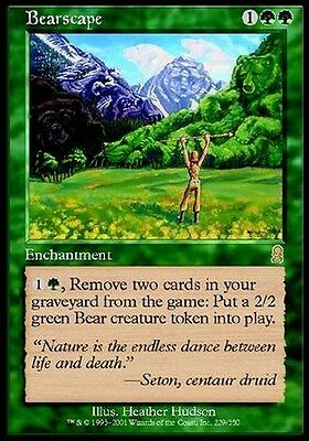 2x Orsolandia - Bearscape MTG MAGIC ODY Odyssey Ita/Eng EXC-NM