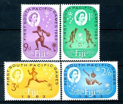 """No: 41646 - FIJI - """"SPORTS"""" - LOT OF 4 OLD STAMPS - MH!!"""