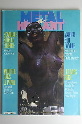 Metal Hurlant Magazine #118 Dec 1985 Renard Fromental Beb Deum French Comic Art