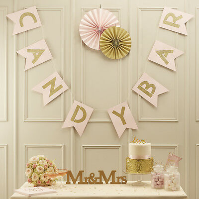 Pastel Perfection - Candy Bar Bunting