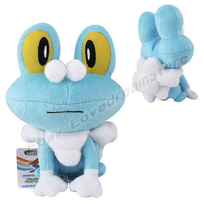 "Pokemon X Y Froakie 16cm/6.3"" Soft Plush Doll Toy #656"