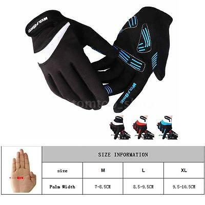 Racing Motor Motorbike Motocross Cycling Bike Full Finger Gloves1 Pair M-XL O5H7